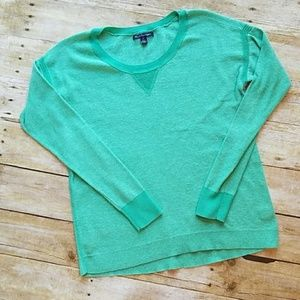 American Eagle mint green lightweight sweater Sm